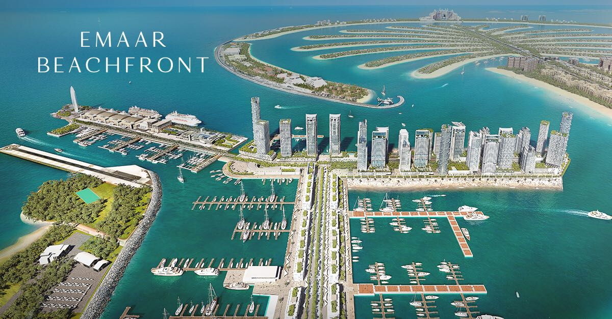 Emaar Beachfront at Palm Jumeirah Dubai